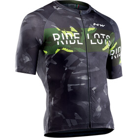 Northwave Blade Short Sleeve Jersey Men black/yellow fluo
